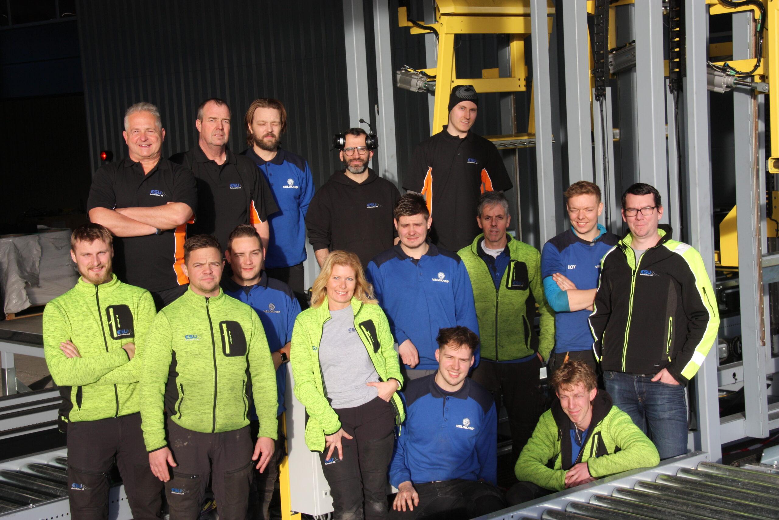 ESU team 2 gruppbild